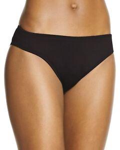 24th-amp-Ocean-NEW-Black-Womens-Size-L-Large-12-14-Swimsuit-Bikini-Bottom-50-S361