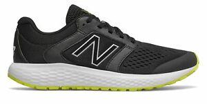 New-Balance-Hommes-520V5-Chaussures-Noir-Avec-Jaune