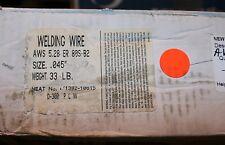 "UNIBRAZE ER80S-Ni1 .045/"" AWS//SFA 5.28 MIG WELDING WIRE"