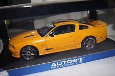 Saleen Ford Mustang s281 naranja 1:18 Autoart nuevo & OVP 73056
