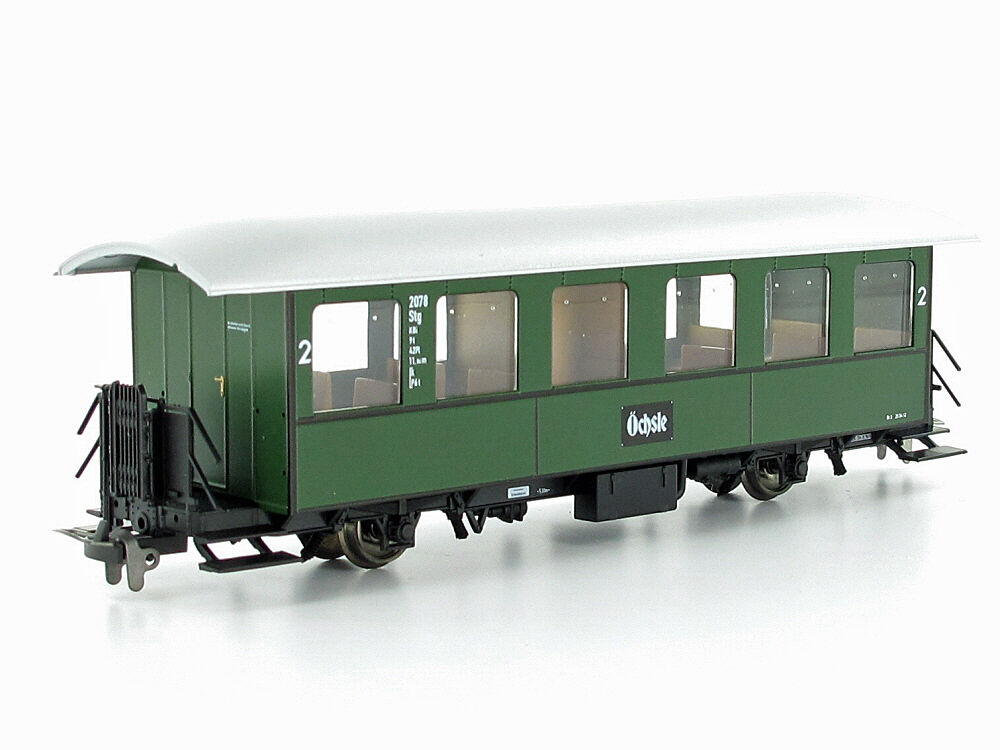 BEMO 3031838 vagoni 2078 STG 2.kl. Oechsle h0e