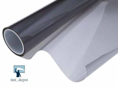 """WINDOW TINT ROLL ECO BLACK//CHARCOAL 35/% 20/""""x10FT SCRATCH RESISTANT COATING"""