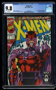X-Men-1991-1-CGC-NM-M-9-8-White-Pages-Magneto-Cover