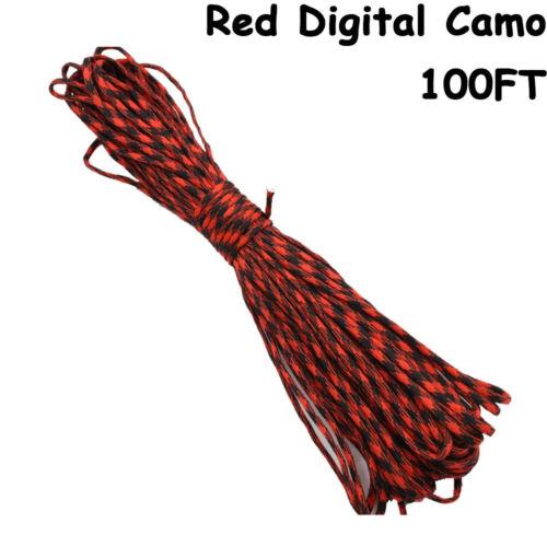 Tools Climbing Clothesline 7 Strand Cord Parachute Rope Lanyard Paracord