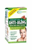 Applied Nutrition Anti-aging Total Body Daily Defense 50-count Free Shipping