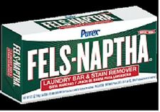 1 Bar PUREX Fels  Naptha Laundry Soap 5.5oz NEW!