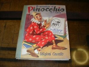 Le-avventure-di-Pinocchio-con-illustrazioni-di-R-Albertarelli-Ed-Cavallo