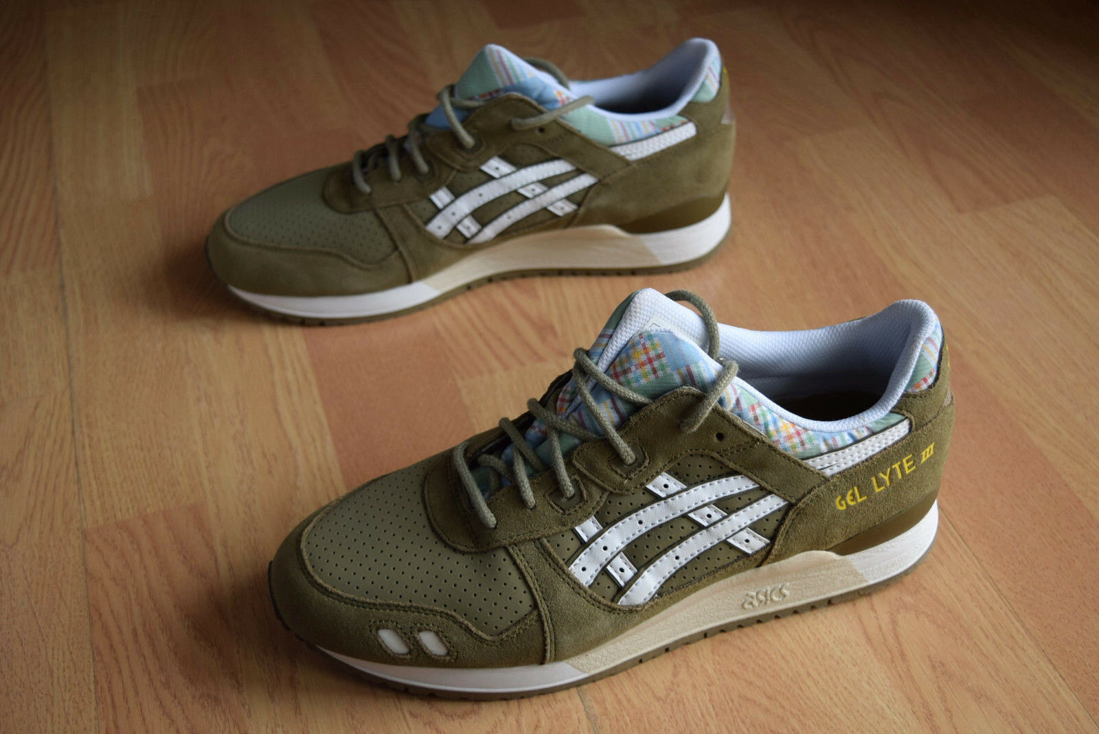 asics gel lyte III 40,5 41 43 43,5 44 H587L 8501 V sAgA gT II footpatrol IV pack New shoes for men and women, limited time discount