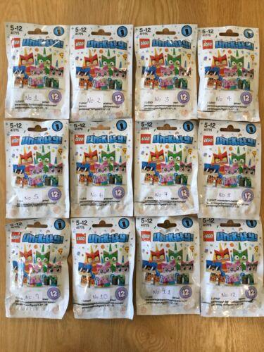 Sealed Inner Bags Lego Unikitty Minifigures Series 1 41775 Full Complete Set