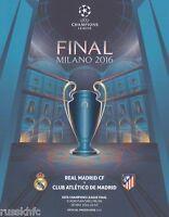 2016 CHAMPIONS LEAGUE FINAL REAL MADRID V ATLETICO MADRID