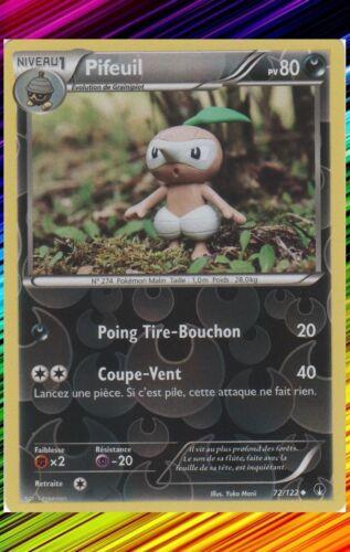 XY9:Rupture Turbo 72//122 Carte Pokemon Neuve Française Pifeuil Reverse
