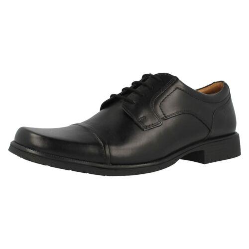 G para con £ Clarks hombre 99 piel negra de Zapato Cap 44 Huckley de cordones Z0Hwqf