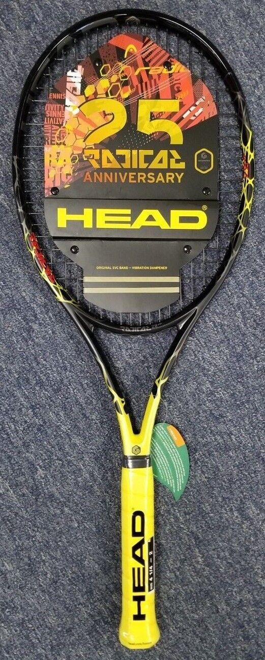 Head Graphene Touch Radical Mp tenis raqueta de 25 años limitada edición limitada