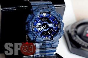 8cf73c68a96 Image is loading Casio-G-Shock-Denim-Design-Men-039-s-