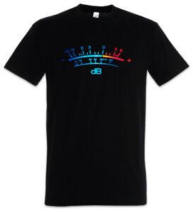 39ea7a8c2c6970 DB Meter II T-Shirt Decibel Music Retro Radio Record Vinyl Stereo ...