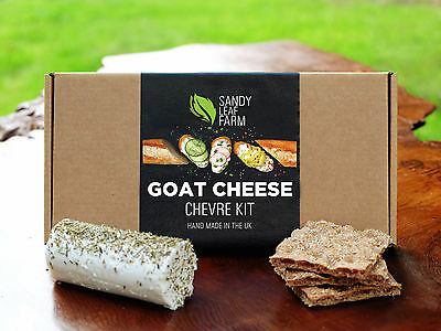 Make Your Own Goat Cheese Kit - Creamy Chèvre - **FREE DELIVERY**