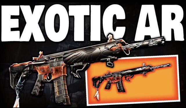 The Division 2 Exotic Assault Rifle Eagle Bearer Raid (PS4/XB1/PC)