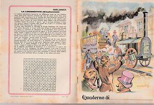 QUADERNO-D-039-EPOCA-ANNI-039-30-039-40-GRANDI-CONQUISTE-LA-LOCOMOTIVA-STEPHENSON-Q62