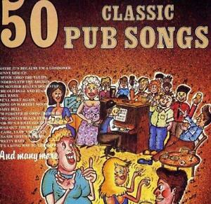 50-Classic-Pub-Songs-Various-Artists-NEW-CD