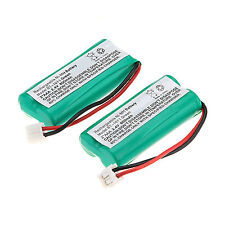 Lot of 2pcs Ni-MH Cordless Phone Battery for Uniden BT-1011 BT-1018 BT101 800mAh