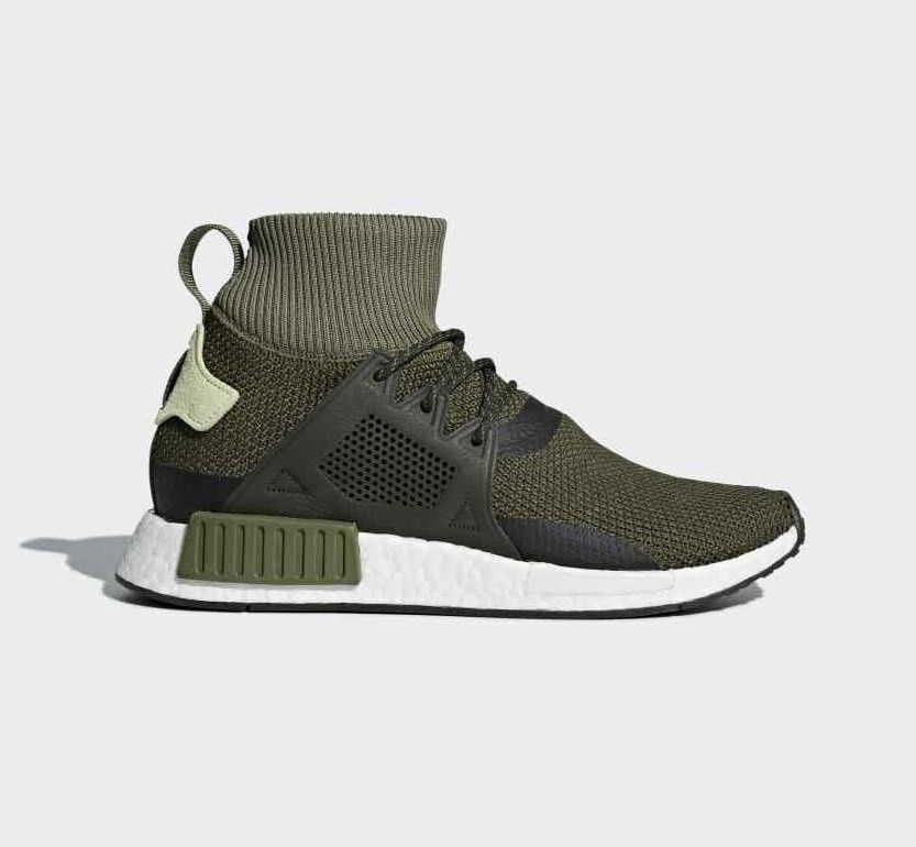 Adidas Originals NMD XR1 ® Trainer Mens (Variable Sizes)Green Olive New