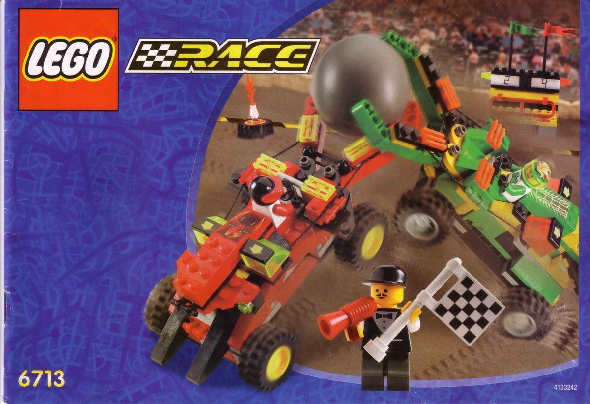 Lego Ciudad Carrera 6713 Agarre 'N' Go Challenge Nuevo Sellado