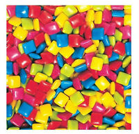 Dubble Bubble Tab Chewing Gum Bulk Vending 1 Pound 400pc Tropical Flavor