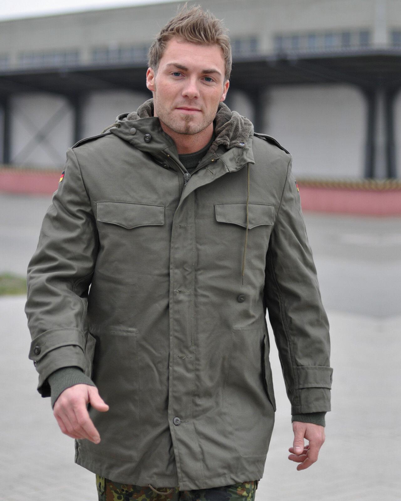 Mil-tec  ejército ALEMÁN ParqueA modelo verde oliva BW Parquea m. forro interior military chaqueta  en venta en línea
