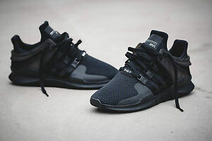 3d4697b0f58b1 Image is loading Adidas-EQT-Support-ADV-Black-BA8324-White-BA8322-