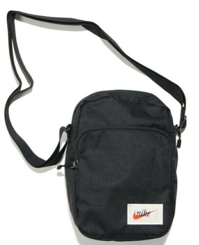 3 of 9 Nike Heritage Mini Bag Man bag Organizer Small Items Sports Shoulder  Bag Black 5e312dcc418cc