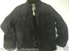 RARE NEW RUEHL 925 MENS VILLAGE JACKET WITH FUR INSIDE SIZE L NWT IN GRAY