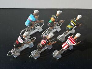 Lot-de-6-cyclistes-equipes-cyclo-cross-2018-2019-Veldcross-Wielrenners