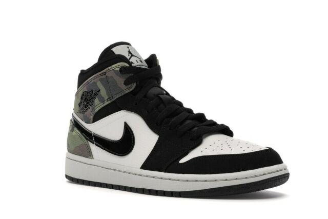 Nike Air Jordan 1 Mid SE Camo Size 11