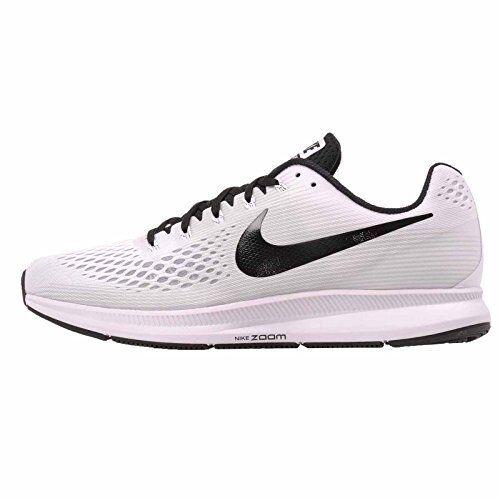 Hombre Nike Blanco Air Zoom PEGASO 34TB Zapatos Blanco Nike Negro 887009 100 10de97
