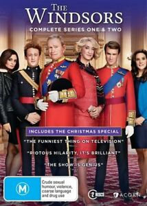 The-Windsors-Series-1-amp-2-Includes-the-Christmas-Special-DVD-NEW-Region-4-Au