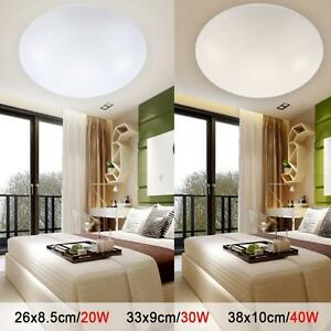 Modern-LED-Oyster-Ceiling-Light-20W-30W-40W-Slimline-Cool-White-Warm-White-GQ