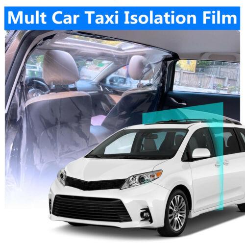 Uber lyft Bulkhead Partition Car Taxi Divider Film Antivirus PVC Taxi 55*78/'