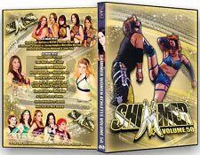Official Shimmer Women Athletes Volume 50, Female Wrestling Event DVD