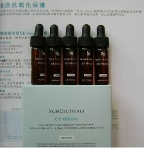 NEW-SkinCeuticals-C-E-Ferulic-10-bottles-Sample-cept