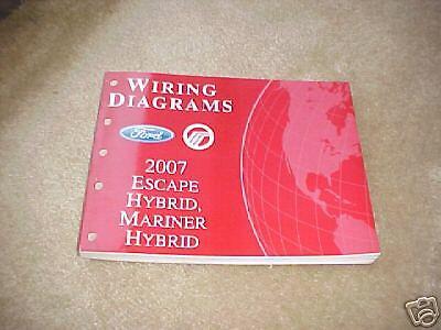 2007 Ford Escape Hybrid, Mariner Wiring Diagram manual   eBay