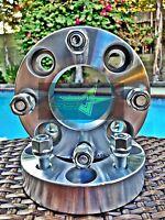 2 Wheel Spacers 1 Inch Thick | 4x100 To 4 X 100 | 12x1.5 Lug Nuts | 4 Lug, 25mm