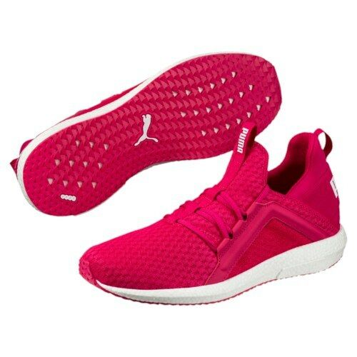 8ea4c69b55a509 PUMA Mega NRGY Wns Love Potion Red Women Running Shoes SNEAKERS 190369-02  UK 4 for sale online