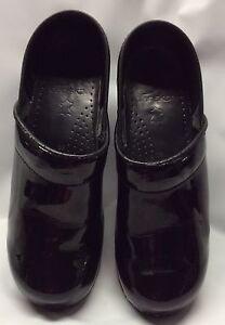 DANSKO Professional 39 Clog schwarz Patent Leder Größe 39 Professional     153f11