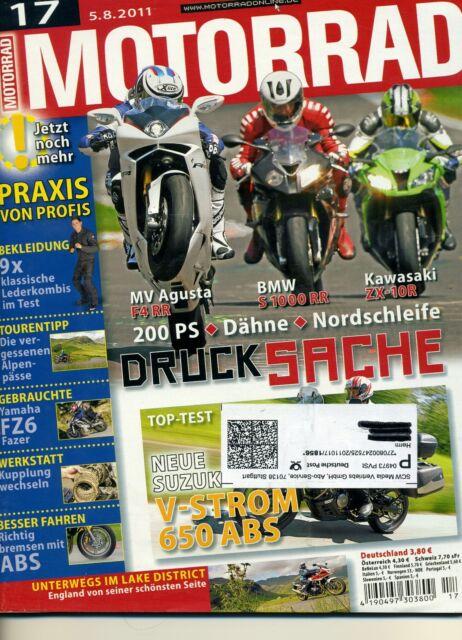 MOTORRAD Zeitschrift  17/2011