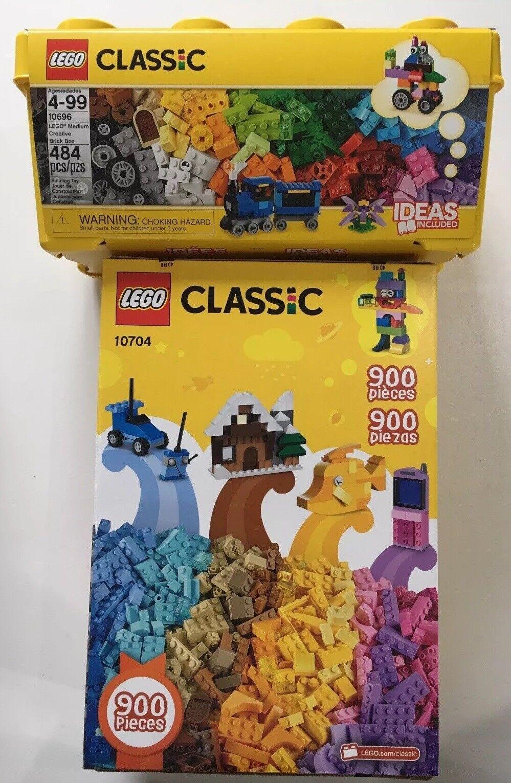 Classic Creative Lego Bundle- Classic Lego 10704 & 10696
