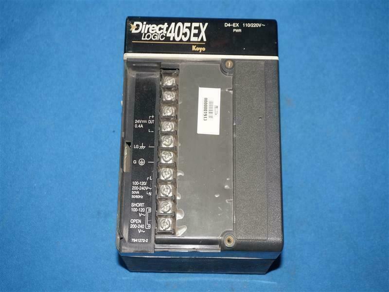 Koyo D4-EX D4EX Direct Logic 405EX Power Module Unit