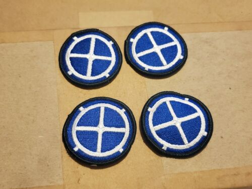 Uniform Patches Lot of 4 US Army 35th Infantry Division Full Color