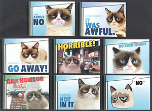 grumpy cat official preview edition trading card set w promo card