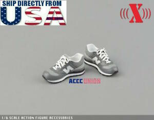 1//6 scale toy Cheerleading Sports Sneakers Peg Type Set A