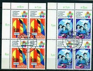 Alemania DDR serie completa en bloque de 4 año 1973  usada
